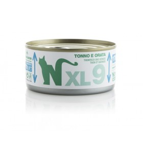 Natural code xl 9 gatto tonno e orata 170 gr