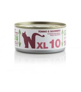 Natural code xl 10 gatto tonno e sgombro 170 gr