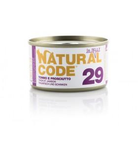 Natural code 29 gatto tonno e prosciutto jelly 85 gr