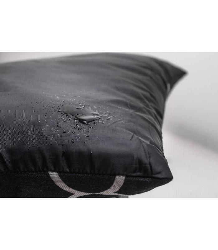 Cliffi design cuscino grigio 54X39X9 cm