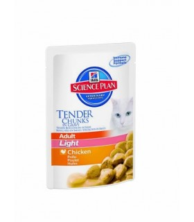Hill's adult feline 85 gr. light pollo bst new