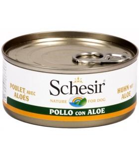 Schesir cane filetti di pollo con aloe 150 gr