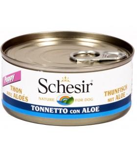 Schesir puppy tonnetto con aloe 150 gr