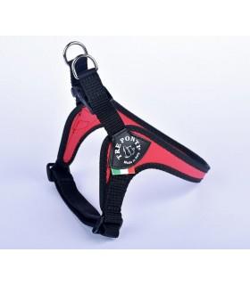 Tre Ponti pettorina easy fit sottopancia regolabile misura 4 rosso