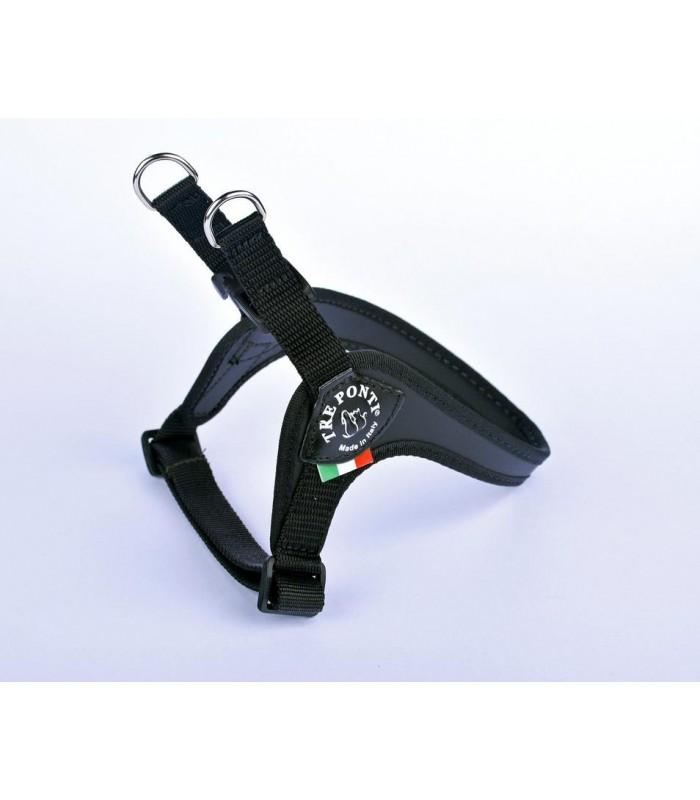 Tre Ponti pettorina easy fit sottopancia regolabile misura 1,5 nero