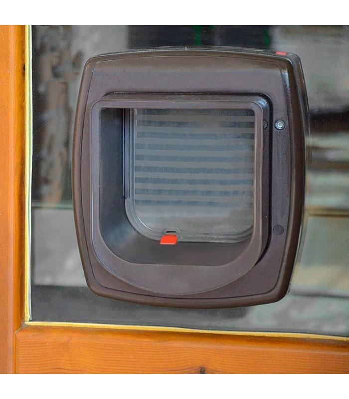 Ferplast swing microchip marrone