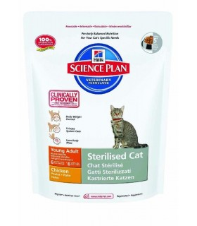 Hill's adult sterilised young pollo cat 300 gr