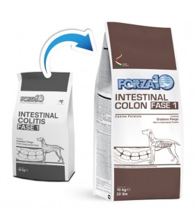 Forza 10 cane intestinal colon Fase-1 10 kg