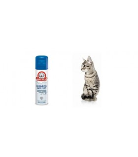 Bayer Shampoo Mousse al Talco per Gatti 200 ml sano & bello