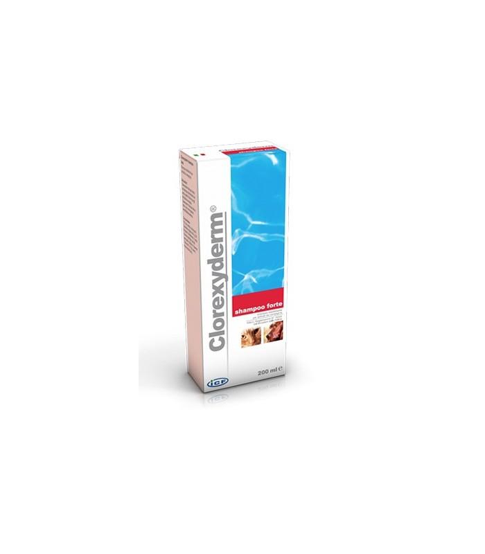 Icf clorexyderm shampoo forte 200 ml