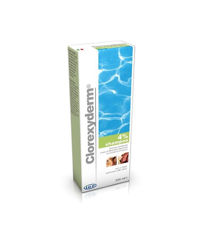 Icf clorexyderm shampoo 4% 250 ml