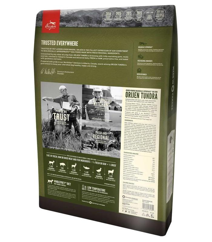 Orijen cane tundra 11,4 kg