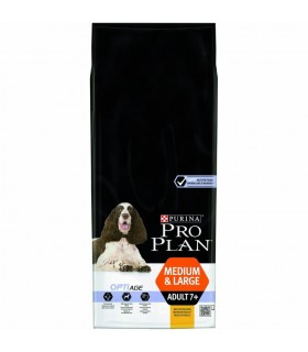Purina proplan adult 7+ medium large optiage 14 kg
