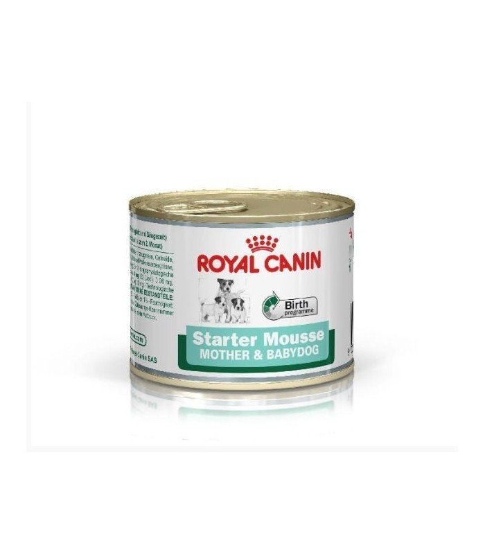 Royal canin starter mousse mother and babydog 195 gr