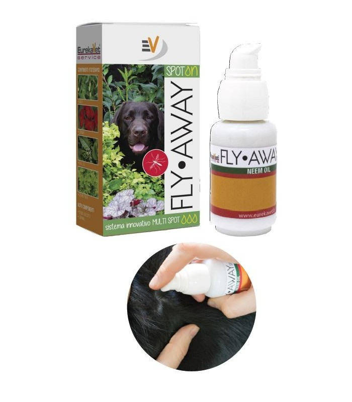 Vetcare fly away spot on medium large 30 ml