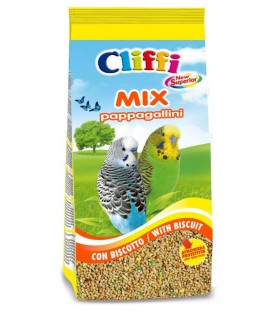 Cliffi new superior mix pappagallini 1 kg con biscotto