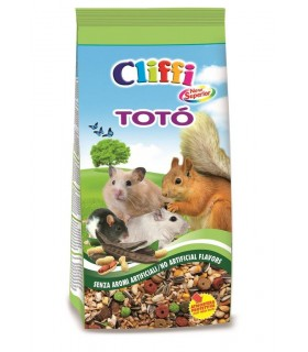 Cliffi toto' new superior per criceti 900 gr