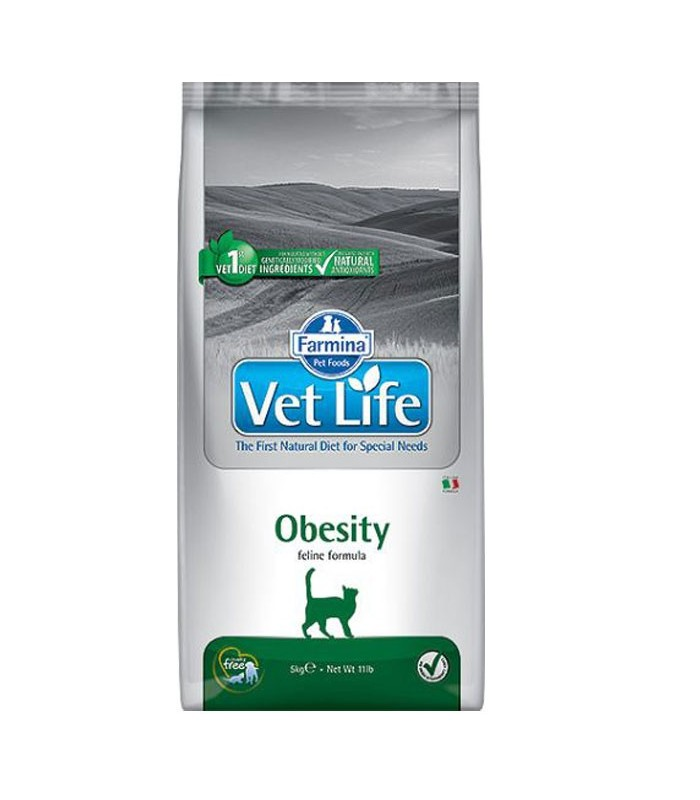 Farmina vet life gatto obesity 2 kg