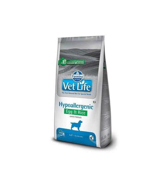 Farmina vet life cane hypoallergenic egg & rice 12 kg