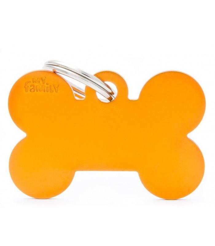 My family medaglietta cane orange big bone