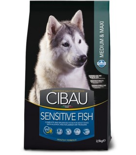 Farmina cibau adult medium & maxi sensitive pesce 12 kg