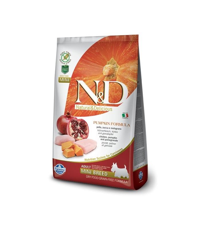 Farmina n&d pumpkin grain free adult mini pollo 7 kg