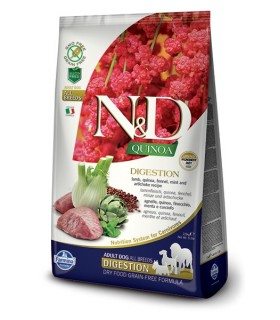 Farmina n&d quinoa cane digestion agnello 2,5 kg