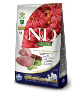 Farmina n&d quinoa cane weight management agnello 7 kg