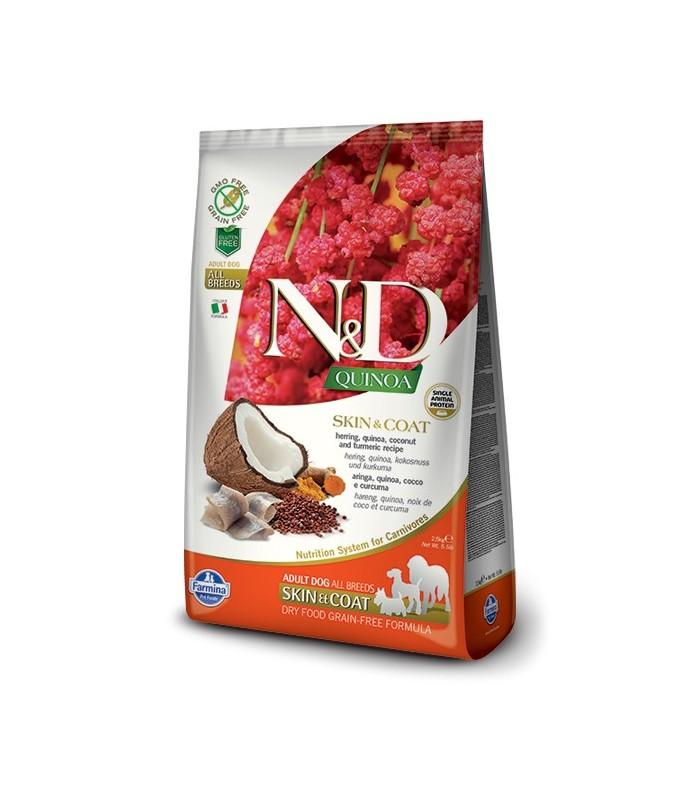Farmina n&d quinoa cane skin&coat aringhe 2,5 kg