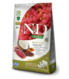 Farmina n&d quinoa cane skin&coat anatra 2,5 kg