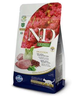 Farmina n&d quinoa gatto digestion agnello 1,5 kg