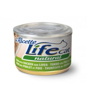 Life cat natural tonno con pollo e fegatini 150 gr