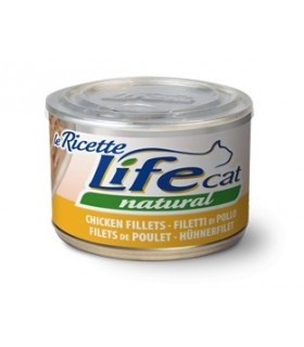 Life cat natural filetti di pollo 150 gr