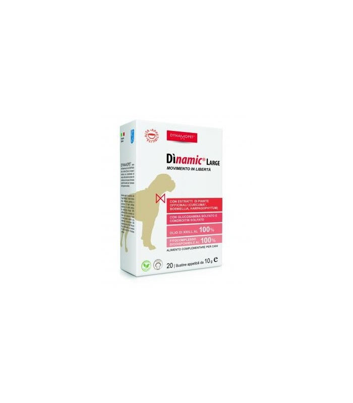 Dynamopet dinamic large 20 bustine 10 gr