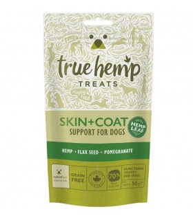 Treats Pelle + Pelo True Hemp da 50 grammi