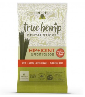 True Hemp Dental Sticks Anca + Articolazioni 100 grammi