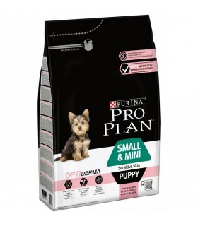 Purina proplan puppy small e mini sensitive skin optiderma 700 gr