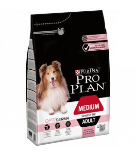 Purina proplan adult medium sensitive skin optiderma 3 kg
