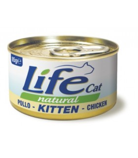 Life cat natural kitten pollo 85 gr