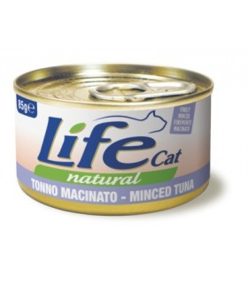 Life cat natural tonno macinato 85 gr