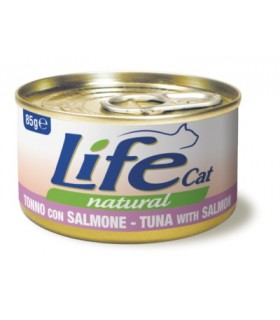 Life cat natural tonno con salmone 85 gr