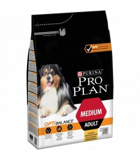 Purina proplan adult medium optibalance 3 kg