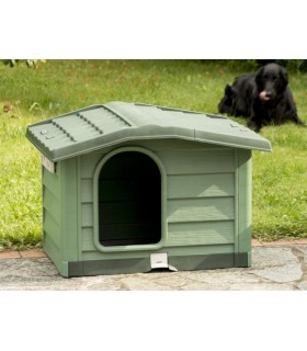 Bama pet cuccia bungalow medium verde