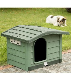 Bama pet cuccia bungalow large verde