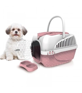 Bama pet trasportino maxi tour rosa