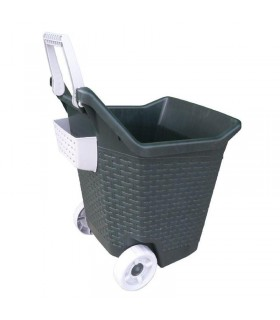 Bama pet trolley kart muschio 76 lt