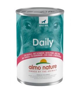 Almo nature daily menu cane con maiale 400 gr