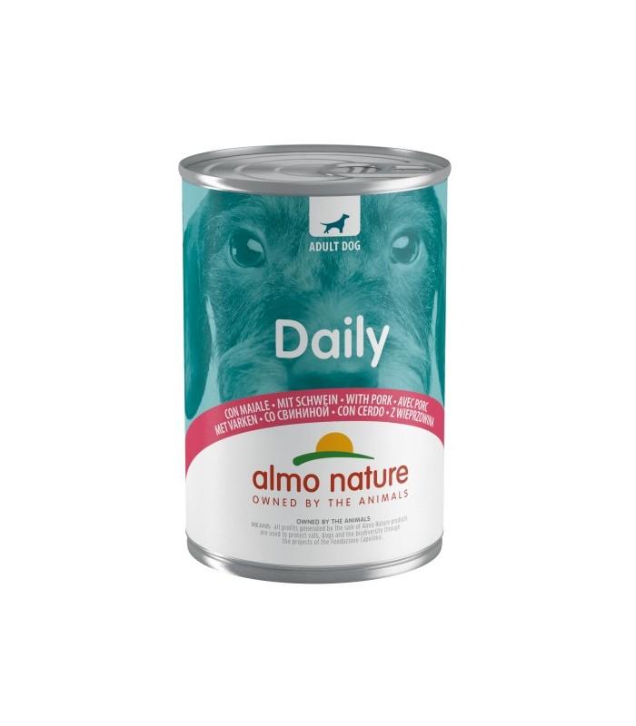 Almo cane daily menu con maiale 400 gr