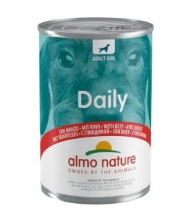 Almo nature daily menu cane con manzo 400 gr