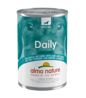 Almo nature daily menu cane con agnello 400 gr